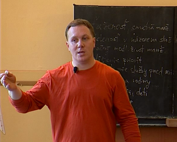 Richard Vašečka: Ako slúžiť a nezničiť si rodinu (workshop)