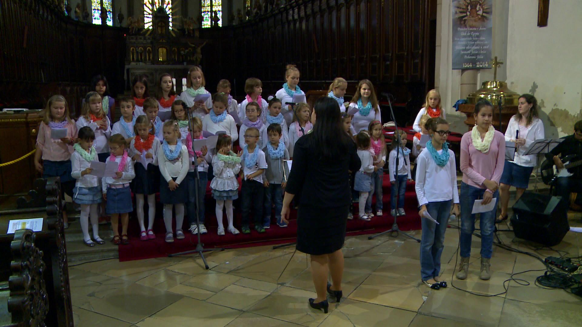 Detský zbor pri Bazilike sv. Mikuláša v Trnave: Koncert