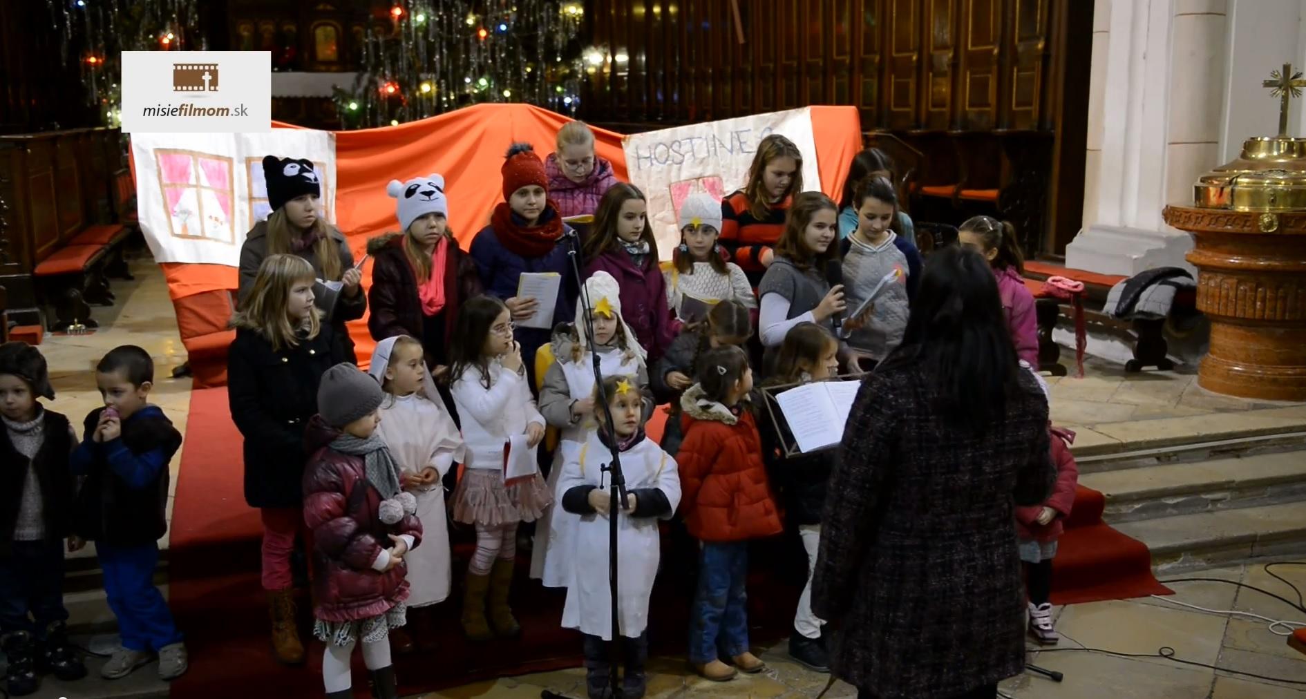 Detský zbor pri Bazilike sv. Mikuláša v Trnave: Koledy