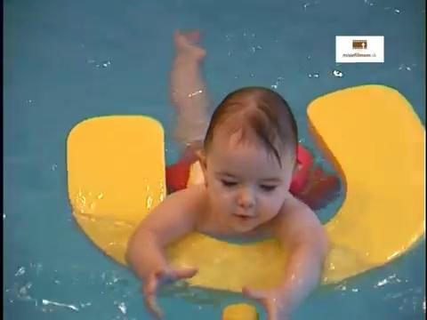 Plávanie dojčiat a batoliat