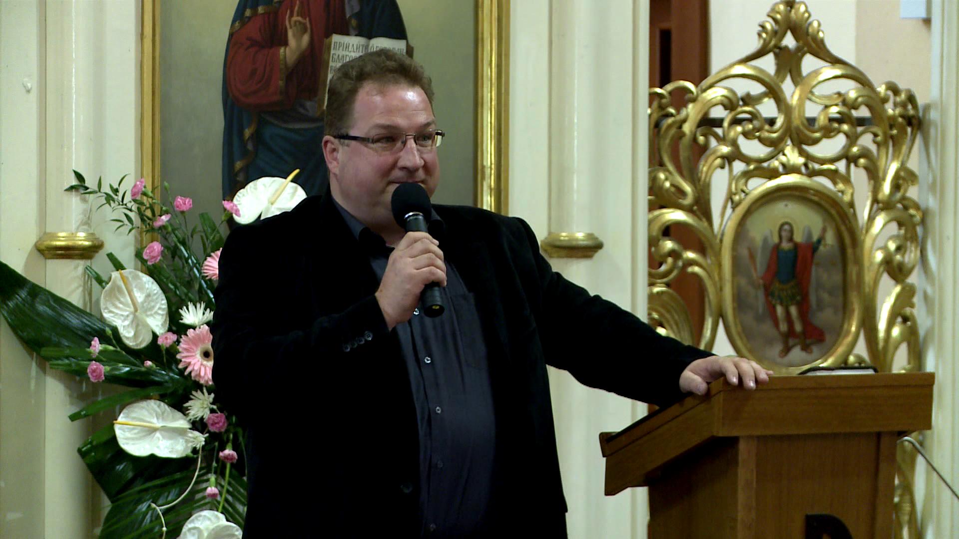 Anton Pariľák – Boží Duch v tebe volá Abba Otec! 1. časť