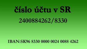 CISLO SK