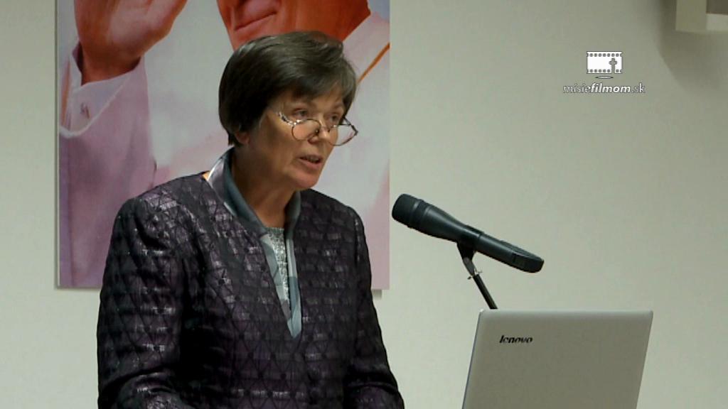 Mária Slivková – Ontológia manželstva a rodiny a ideológia gender