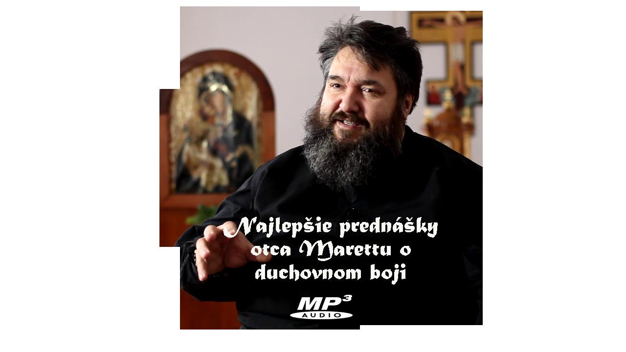 CD mp3    Najlepšie prednášky o.Marettu  o duchovnom boji