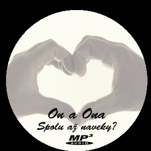 CD mp3 – On a ona – spolu až naveky