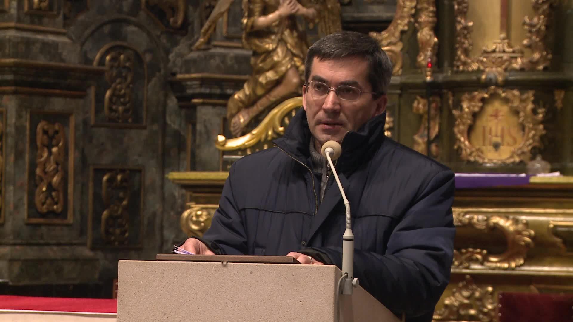 Otec Špánik hovorí o druhej urážke Panny Márie…