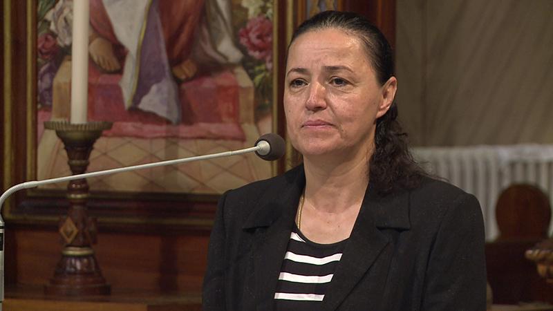 Svedectvo Myrny Nazzour v Michalovciach.