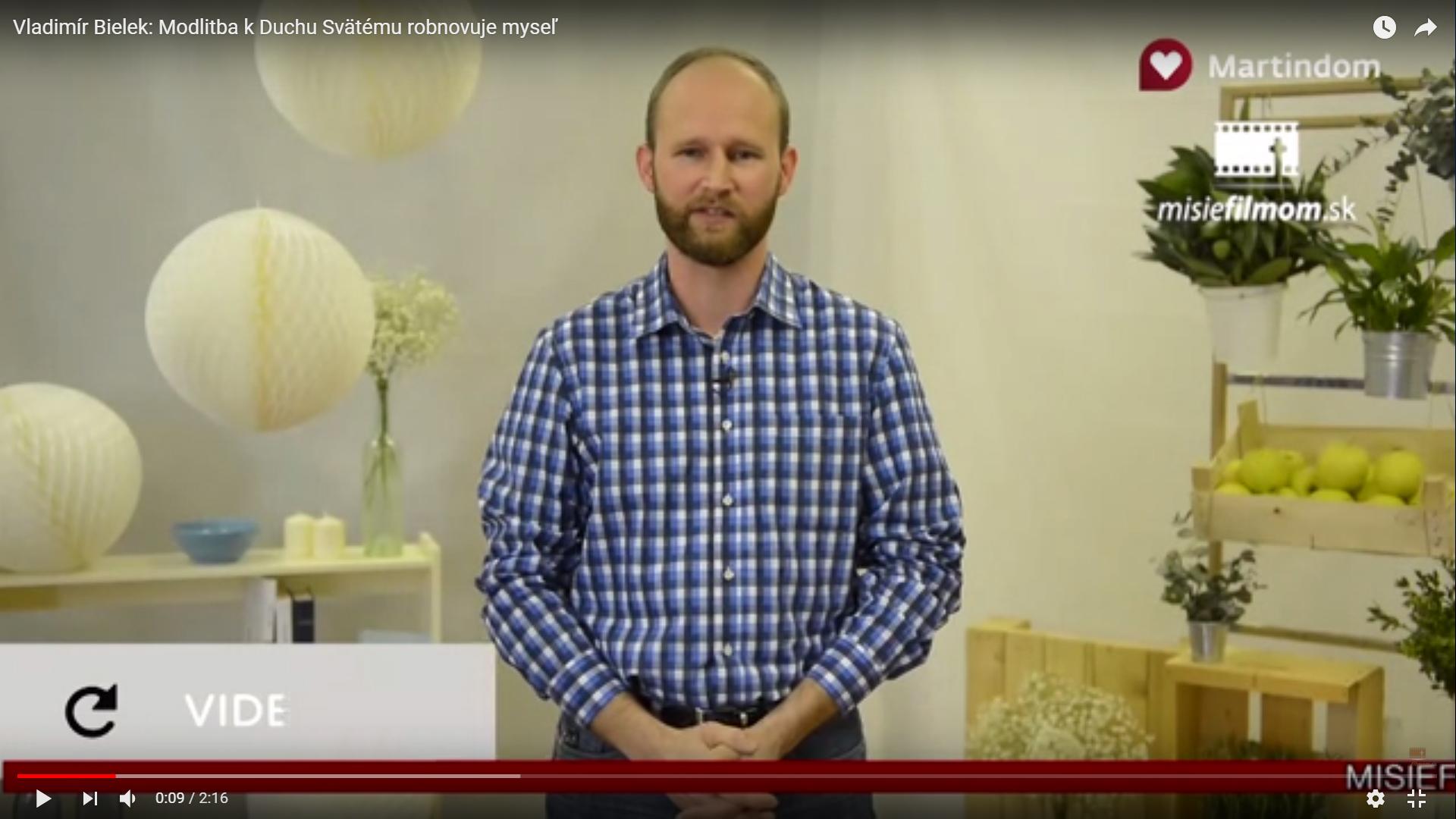 Vladimír Bielek: Modlitba k Duchu Svätému obnovuje myseľ