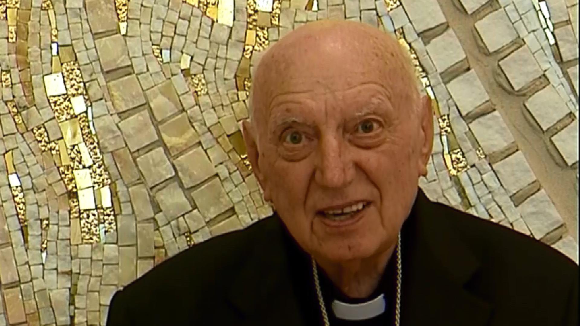 Kardinál Špidlík – Musíme sa naučiť čítať obrazy, sochy, maľby
